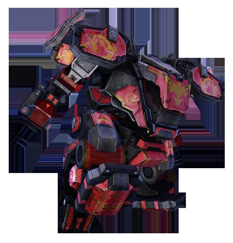赤龙-03式重型机甲